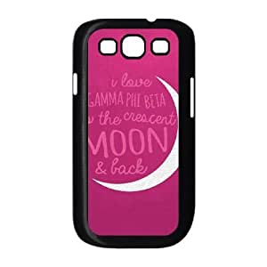 Gamma Phi Beta Pink Samsung Galaxy S3 9300 Cell Phone Case Black Exquisite gift (SA_523281)