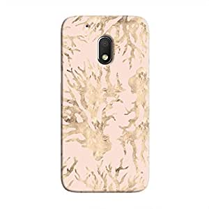 Cover It Up - Pink Pastel Nature Print Moto G4 Play Hard Case