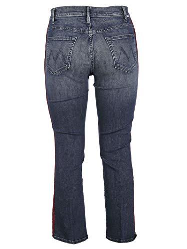 Cotone Donna Blu Mother Jeans 1307104hkg RH1TnTz