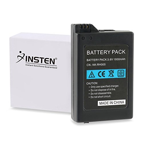 eForCity? 2x LITHIUM 3.6V 1800MAH Replacement BATTERY PACK Compatible With SONY PSP 1000