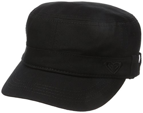 Roxy Junior's Castro Military Hat, Anthracite, One - Women Castro