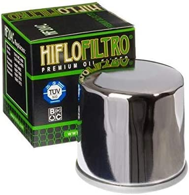 GL1800 Gold Wing 2001-2018 Chrome Oil Filter Genuine OE Quality HiFlo HF204C