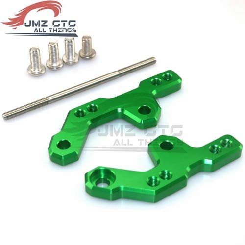 Frames & Fittings Motorcycle CNC Aluminum Alloy Accessories Foot Pegs Rear Rearset Base for Kawasaki Ninja 250 300 ZX-300R Z250 Z300 - (Color: Green)