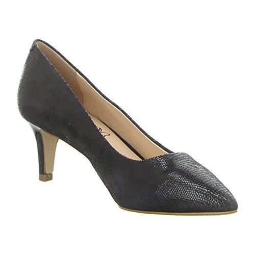 Caprice Women's 22415 Closed Toe Heels Blue utU0D
