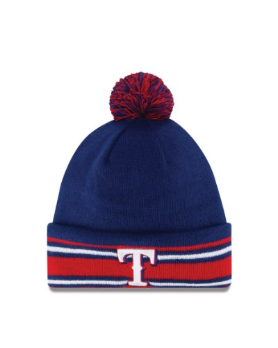 MLB Texas Rangers AC Knit 2014 Cap, One Size