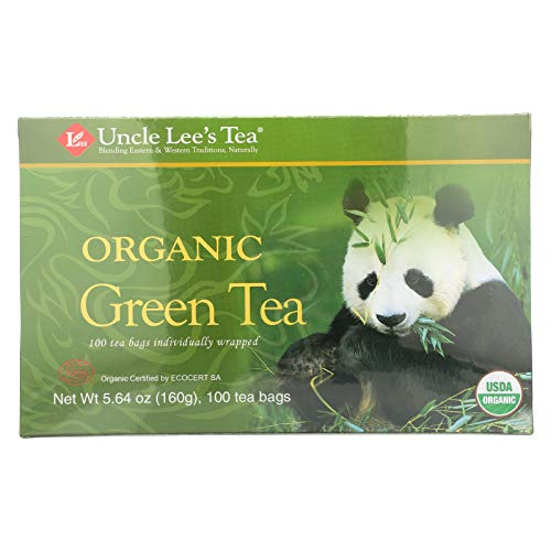 2 Pack of Uncle Lee s Legends of China Organic Green Tea - 100 Tea Bags - 100% Organic - Full of health promoting antioxidants