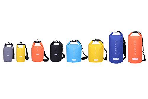 KEEPON Waterproof Dry Bags for Water Sports Kayaking, Canoeing, Fishing - Dry Gear Bag and Sack by Durable, Lightweight Floating Backpack - Great For Outdoors, Camping and Hiking