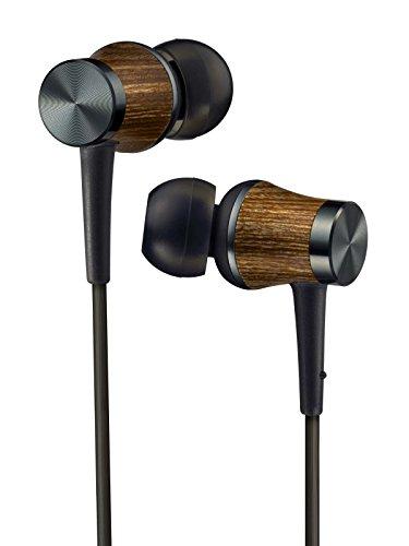 "JVC Canal type earphone High res ""WOOD"" HA-FW7-B (..."
