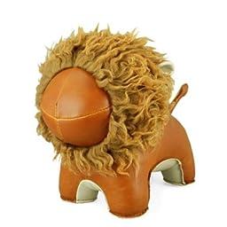 Zuny Bookend - Lion - Tan