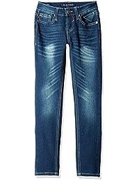 VIGOSS girls Aiden 5 Pocket Skinny Jean