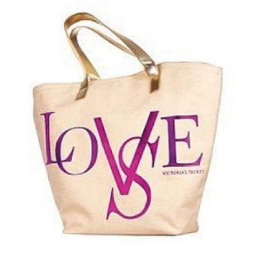Victoria Secret Love Tote Shopper Bag Custodia, nuovo