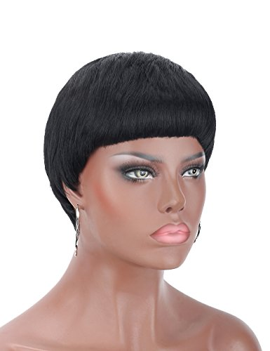 Wigs for Black Women with Round Faces