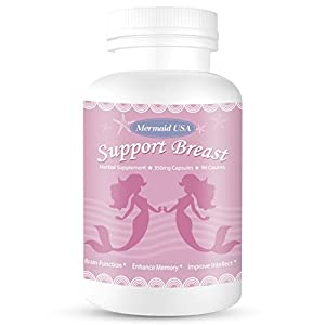 M.U Natural Breast Enhancement Pills Support Breasts Lift Firm Health Supplement Natural and Green Herb to Fight Lumps of PRO Formula M.U Mermaid USA natural enhancement - 41rkkCOioNL - natural enhancement