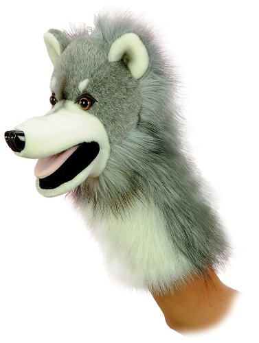 Aurora World Wolfgang Wolf Hand Puppet 10
