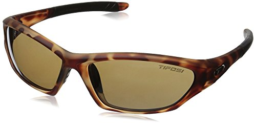 Tifosi Core Polarized Sunglasses - Tifosi Core Wrap Sunglasses, Tortoise, 128 mm