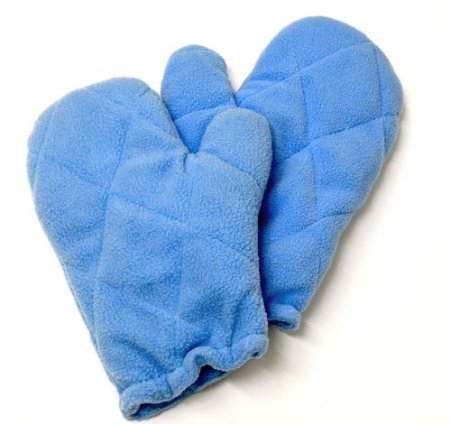 (MICROWAVEABLE BUCKWHEAT HEAT THERAPY MITTS)
