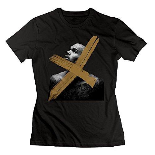 (Matta Chris Brown X Women's T Shirt Black M)