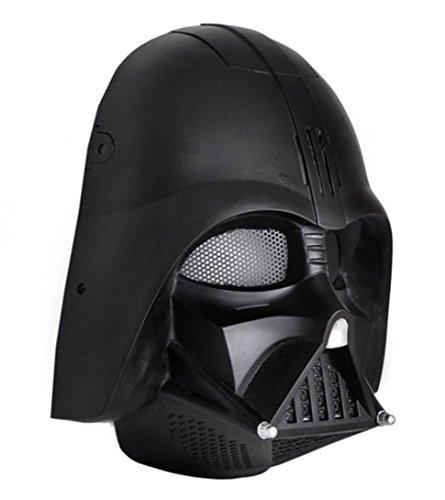 Gmasking Star Wars Darth Vader Cosplay Airsoft Paintball (Star Wars Face Paint)