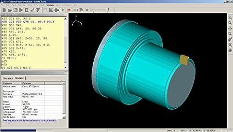 seeNC Turn - CNC program simulator for training (Cad Program Software)