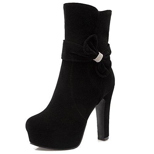 5 Noir Noir Femme Plateforme 36 HiTime wXHq4tZ