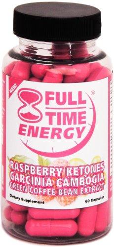 À temps plein de l'énergie pilule Super framboise cétones Garcinia Cambogia café vert Extraire Fat Burners - Pills Extreme Diet - Les meilleurs suppléments de perte de poids qui fonctionne rapidement pour les femmes et les hommes