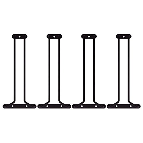 Stemware Glass Hanger Racks - Oil Rubbed Bronze - 10''L - Set of 4 by KegWorks