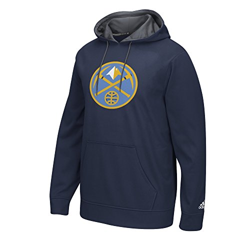 NBA Denver Nuggets Men's Tip-Off Playbook Hoodie, Small, Navy