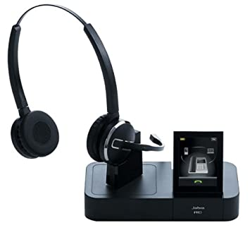 Jabra Pro 9460 Duo - Auriculares inalámbricos tipo diadema