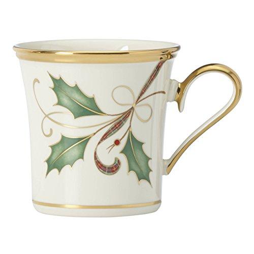 Lenox Holiday Nouveau Gold Mug (Lenox Holiday Coffee)