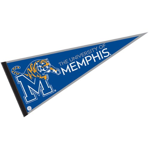 University Ncaa College Pennant (University of Memphis Pennant Full Size Felt)