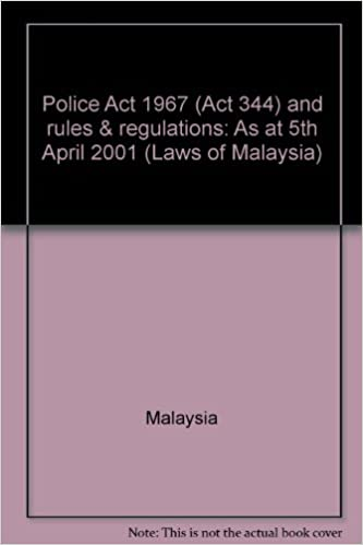 POLICE ACT 1967 EBOOK
