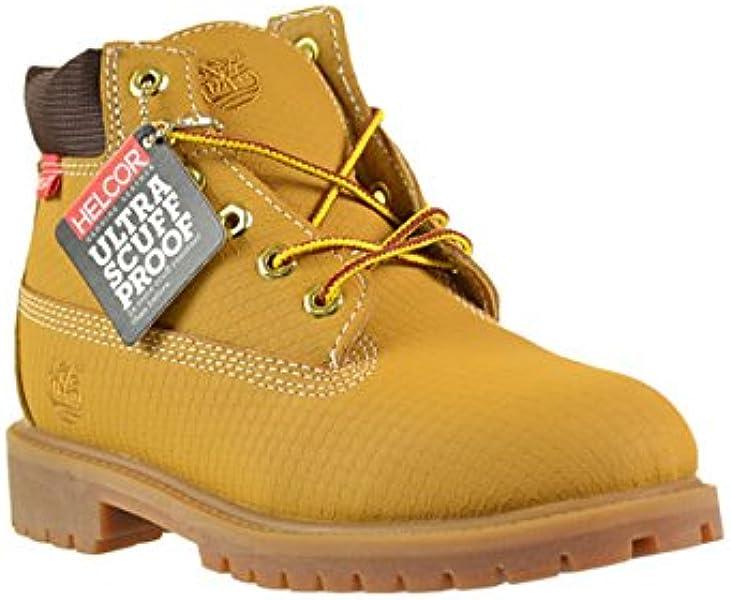 Timberland 6 Inch Premium Helcor Waterproof Little Kids Boots Wheat 6576r