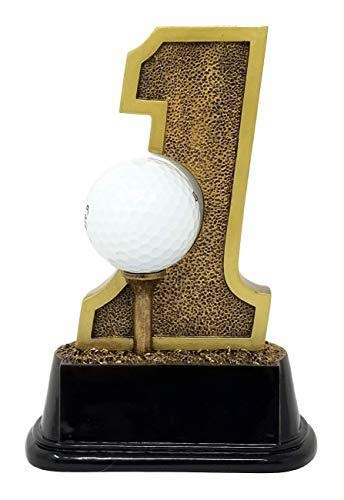 Amazon.com: Trofeo de golf Hole-in-One de 6.0 in de alto ...