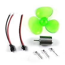 Zehui Mini Motor 0.1-24V DC Generator Set Micro Fan Blade Wind Turbines Small DIY Motor