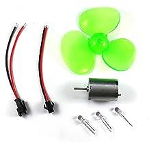 0.1-24V DC Generator Set Micro Fan 3-Blade Wind Turbines Generator Small DIY Motor