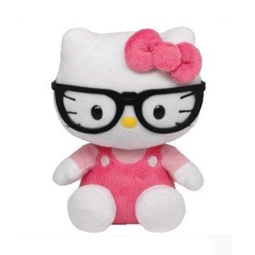Nerd Hello Kitty - Ty Beanie Baby Hello Kitty Plush