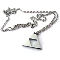 Stainless Steel Zelda Triforce Necklace