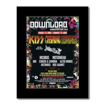 Amazon com: Music Ad World DOWNLOAD FESTIVAL - 2008 - Kiss Offspring