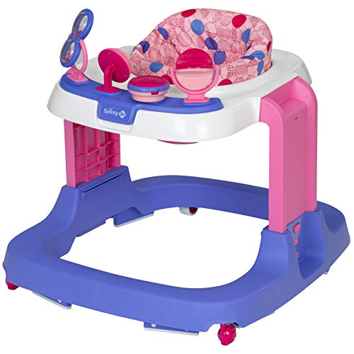 Safety 1st Safety 1st Ready, Set, Walk! DX Developmental Walker, Spotlight Pink, One Size