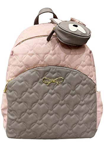 Cheap Betsey Johnson Quilted Hearts Diaper Bag Backpack betsey johnson diaper bags
