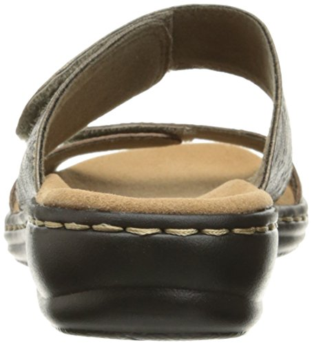 Metallic Leather Clarks Leisa Lacole Sandals Women's Pewter q7Yw7XP