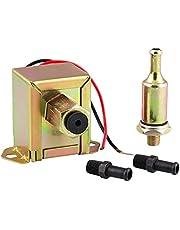 YUPVM Electric Fuel Pump 12V 4-7Psi Universal Self Priming Heavy Duty Gas-Crude Oil in-Line in-Tank Electric Fuel Pump