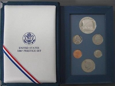 1987 US Mint Constitution Prestige Proof Coin Set