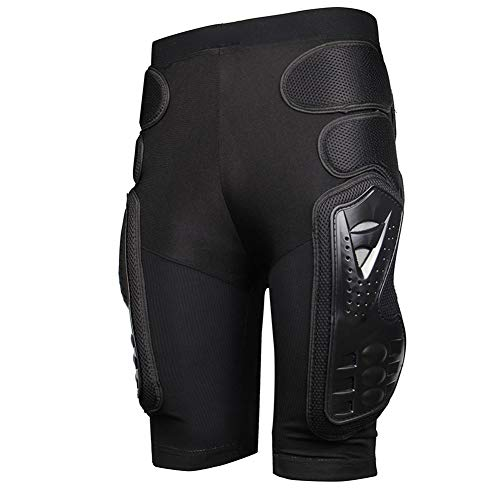 Shantan Protective Armor Pants,Protective Armor Pants Hockey Knight Gear for Motorcycle Snowboards Mountain Bike Cycle Shorts,Motorcycle Bicycle Ski Armour Pants for Men & Women