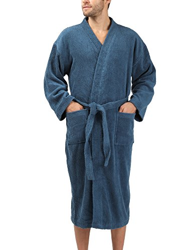 David Archy Cotton Kimono Bathrobe