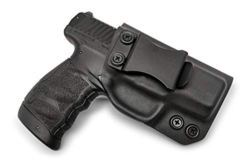 Concealment Express IWB KYDEX Holster: fits Walther PPS M2 (BLK, RH) - Inside Waistband Concealed Carry - Adj. Cant/Retention - US Made