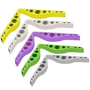 Accessorio per prevenire lappannamento degli occhiali da vista, 5 pezzi anti-appannamento TPR ponte nasale anti… 3 spesavip