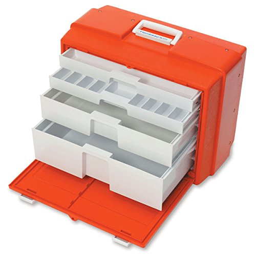 Mega Capacity Lockable Emergency Box 19.5''W x 10.38''D x 15''H by CeilBlue