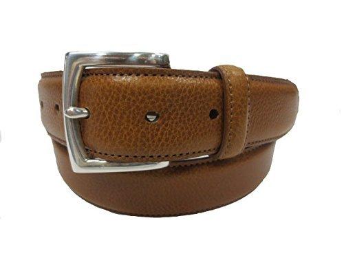 bosca-single-stitch-casual-belt-tan