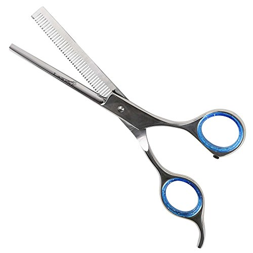 Laazar Pro Shears Thinning Pet Grooming Shear - 6.5 42 Teeth Scissors for dogs cats and pets